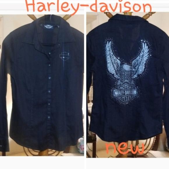 Harley-davison Tops - Harley-davison Blouse